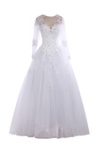 Robe de mariée brillant distinguee exclusif officiel de col en cœur