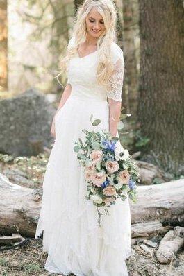 Robe de mariee nature chic