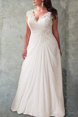 3b7efbe19042 Abito da sposa senza maniche cuore con festone romantico allacciato  attraente