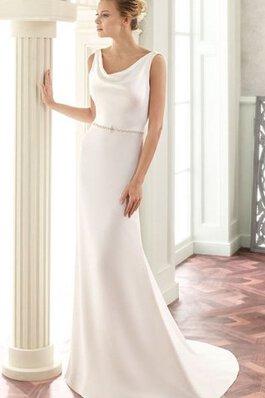 7b641ce4e Romántico Vestido de Novia de Fuera de casa de Espalda Descubierta con  Perlas