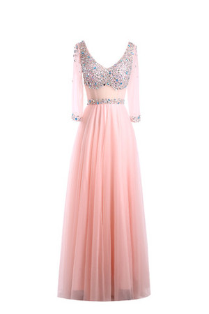 La coupe correcte, le look correct avec la bonne couleur 9ce2-2ym5u-robe-mere-de-mariee-luxueux-romantique-extraodinaire-de-col-en-v-textile-en-tulle