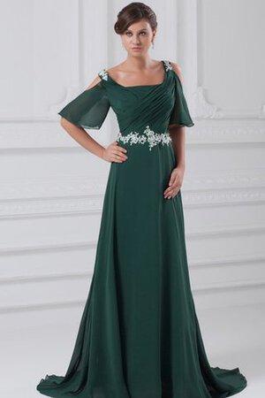 De nombreuses mariées savent instantanément qu'elles ont choisi 9ce2-9yy10-robe-de-soiree-fermeutre-eclair-a-ligne-avec-perle-de-traine-courte-en-chiffon