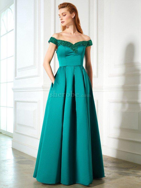 Vestidos de noche corte de princesa