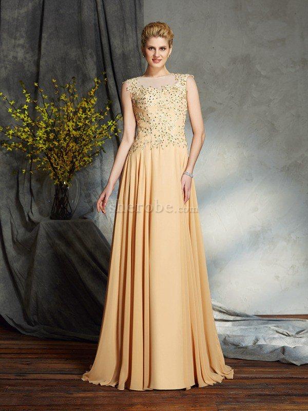 3eaa38ef30 Vestido de Madrina de Corte princesa de Cremallera de Sin mangas de Escote  redondo ...