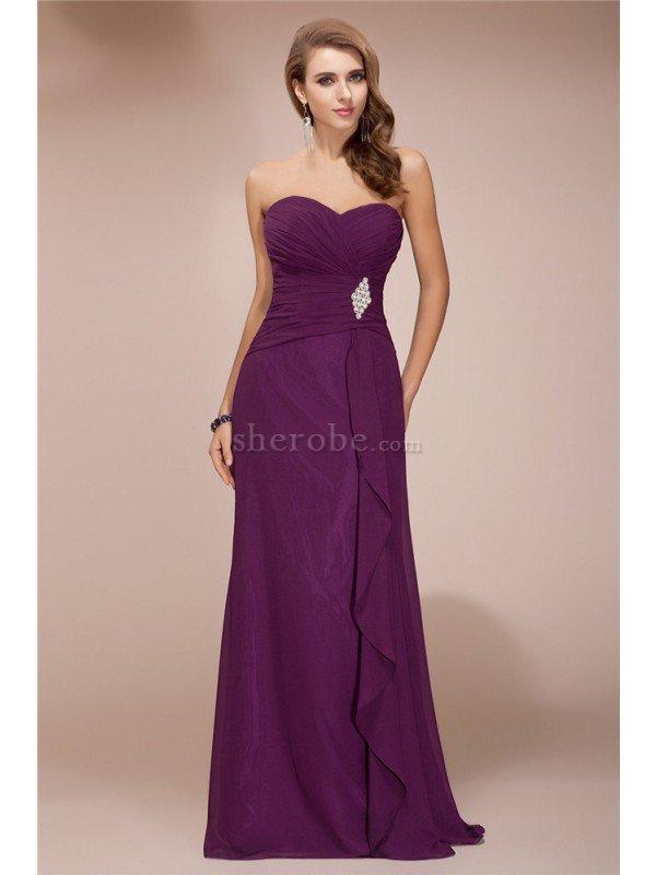 Famoso Vestidos De Dama De Largo Ornamento - Ideas para el Banquete ...