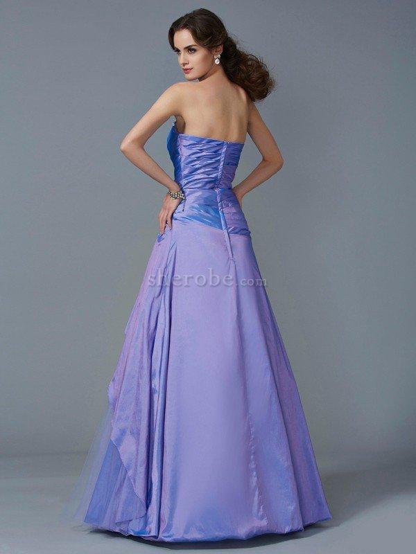 Vestido de Quinceañeras de Corte Sirena en Tafetán de Imperio ...