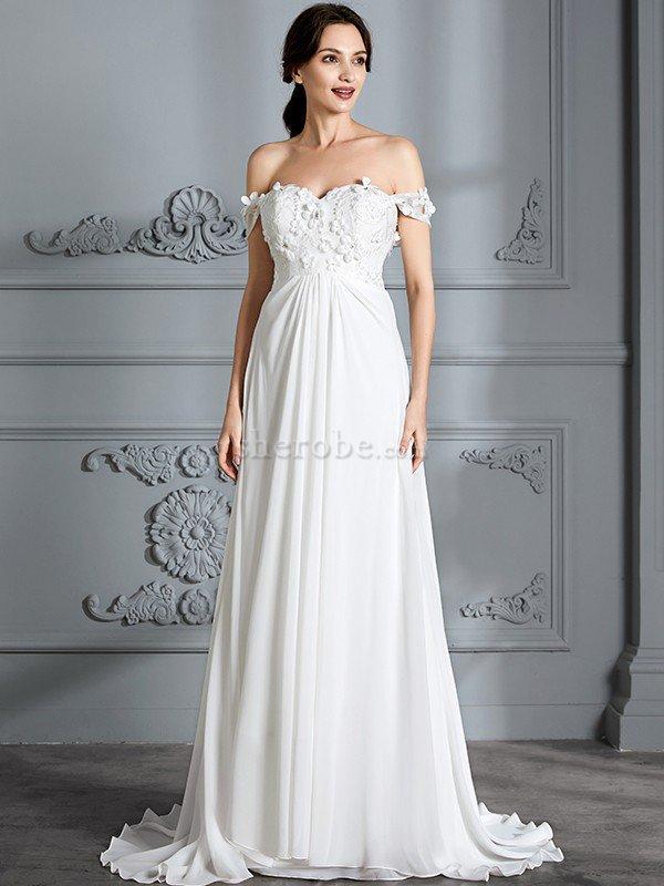 Vestidos de novia strapless corte princesa