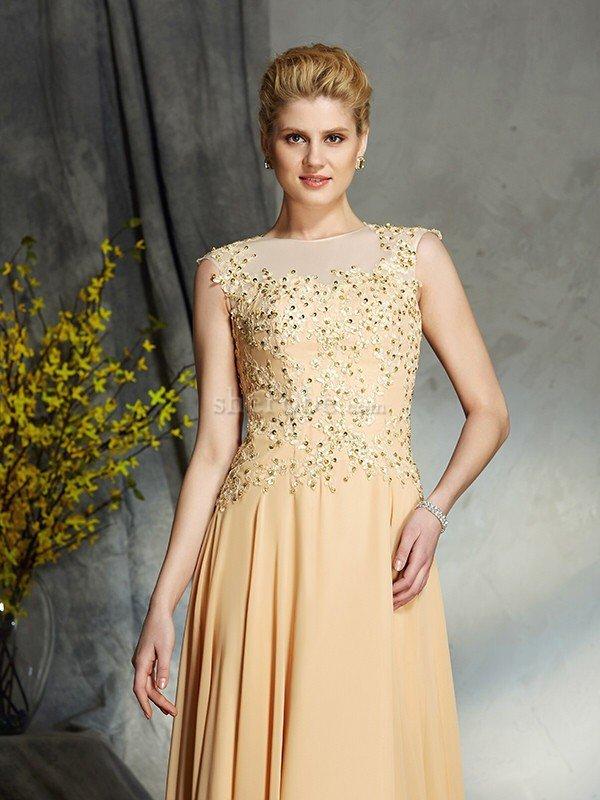 16db467495 ... Vestido de Madrina de Corte princesa de Cremallera de Sin mangas de  Escote redondo - 6