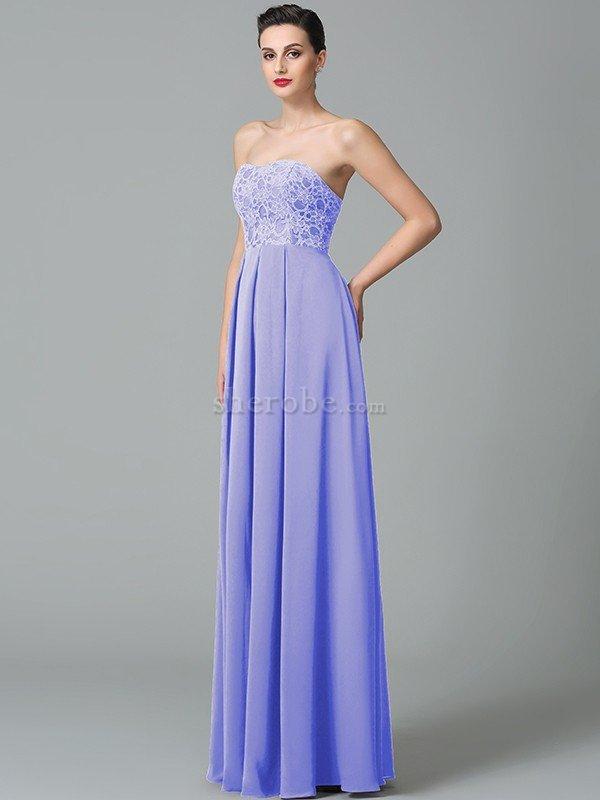 Vestido de Dama de Honor de Corte princesa de Escote Corazón de ...