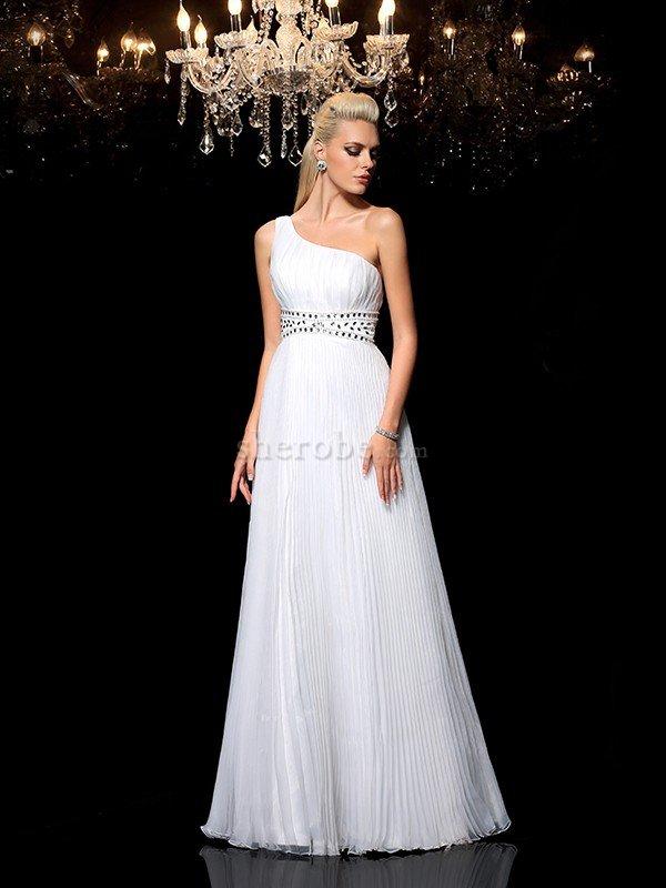 f6ba45330d ... Vestido de Fiesta de Corte-A de Corte princesa de Largo de Un sólo  hombro