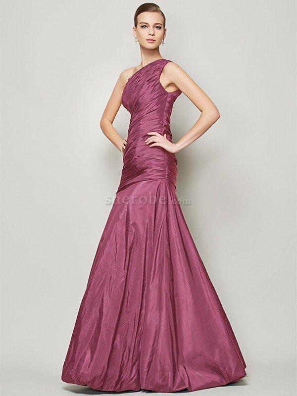 Vestido de Dama de Honor de Corte princesa en Tafetán de Largo de ...