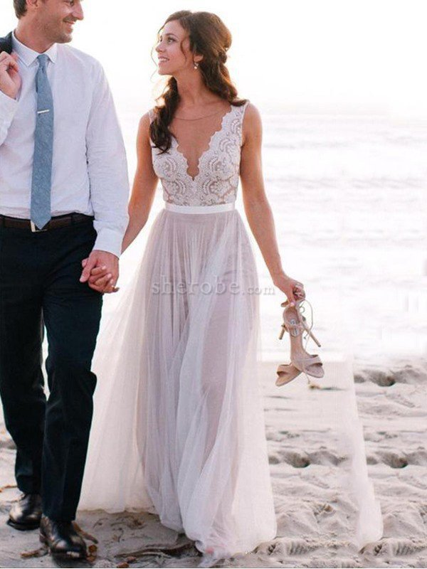 Vestidos de novia corte princesa de tul